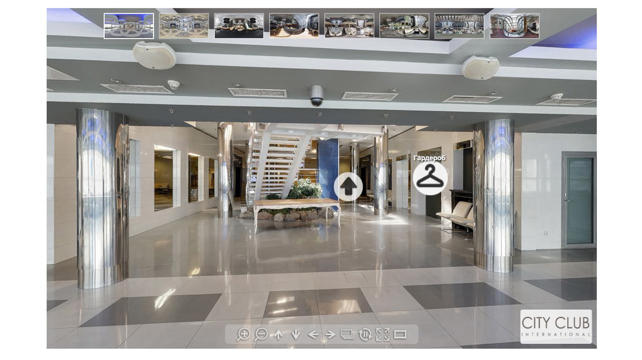 интерактивные подсказки в 3D туре